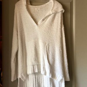NWOT Lou and Grey Hooded sweater